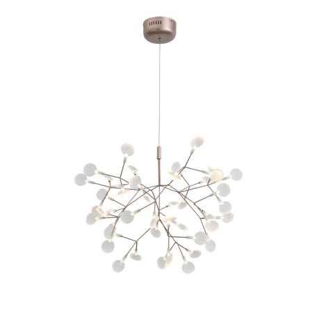 Подвесная светодиодная люстра ST Luce Rafina SL379.203.45, LED 14W 3500K, медь, белый, металл, пластик