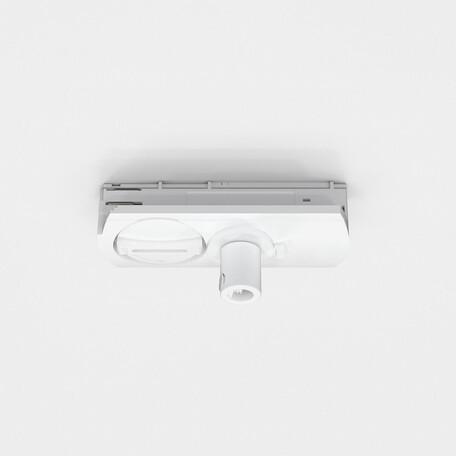 Крепление-адаптер для монтажа светильника на трек Astro Track 6020038, белый, пластик