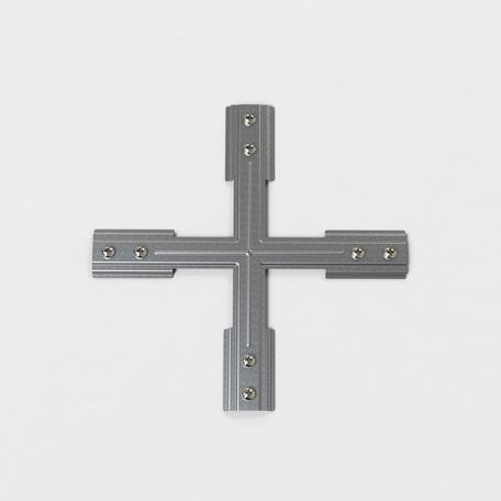 X-образное крепление для монтажа шинопровода на подвес Astro Track 6020034, сталь, металл