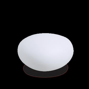 Садовый светильник Ideal Lux SASSO PT1 D41 161778 (SASSO PT1 D40), IP44, 1xE27x40W, белый, металл, пластик