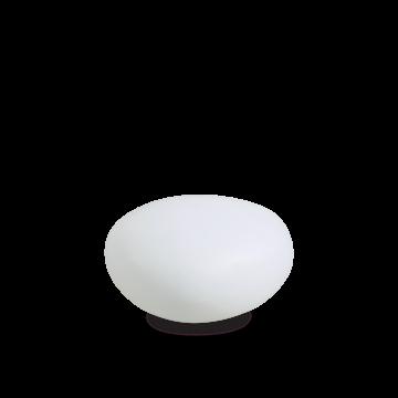 Садовый светильник Ideal Lux SASSO PT1 D30 161761, IP44, 1xE27x40W, белый, пластик