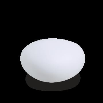 Садовый светильник Ideal Lux SASSO PT1 D40 161778, IP44, 1xE27x40W, белый, пластик