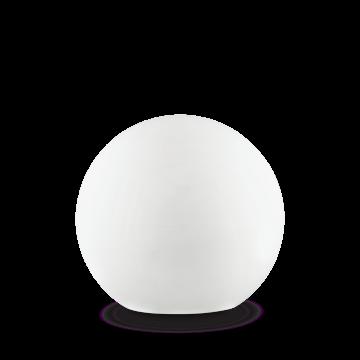 Садовый светильник Ideal Lux SOLE PT1 BIG 191614, IP44, 1xE27x60W, белый, пластик
