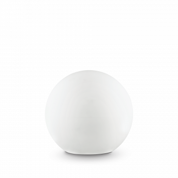 Садовый светильник Ideal Lux SOLE PT1 MEDIUM 191621, IP44, 1xE27x60W, белый, пластик