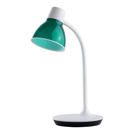 Настольная светодиодная лампа MW-Light Ракурс 631036101, LED 4,2W 4000K 250lm, белый, зеленый, металл, пластик