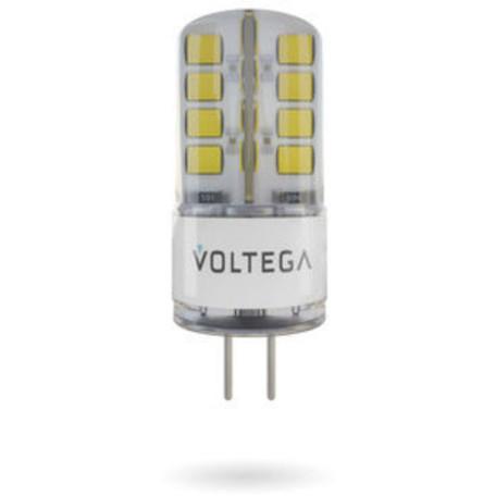 Светодиодная лампа Voltega Simple 6983 капсульная G4 2,5W, 2800K (теплый) 220V, гарантия 2 года