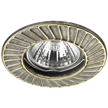 Встраиваемый светильник Novotech Keen 370372, 1xGU5.3x50W, бронза, металл