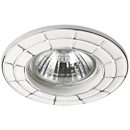 Встраиваемый светильник Novotech Keen 370379, 1xGU5.3x50W, хром, белый, металл
