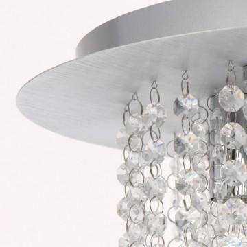 Потолочная люстра MW-Light Венеция 276014605, серебро, прозрачный, металл, хрусталь - миниатюра 10