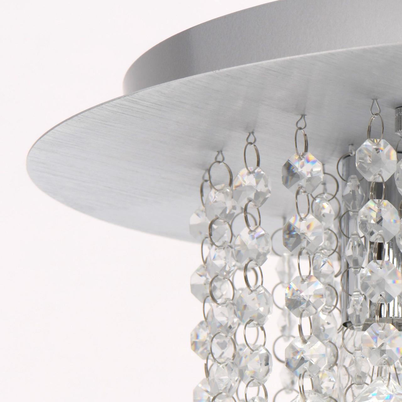 Потолочная люстра MW-Light Венеция 276014605, серебро, прозрачный, металл, хрусталь - фото 10
