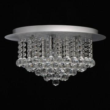 Потолочная люстра MW-Light Венеция 276014605, серебро, прозрачный, металл, хрусталь - миниатюра 3