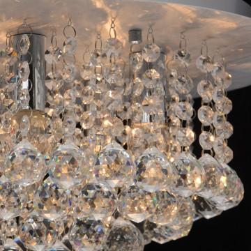 Потолочная люстра MW-Light Венеция 276014605, серебро, прозрачный, металл, хрусталь - миниатюра 4