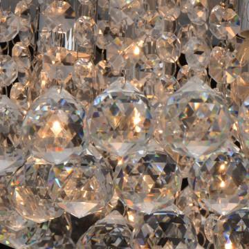 Потолочная люстра MW-Light Венеция 276014605, серебро, прозрачный, металл, хрусталь - миниатюра 7