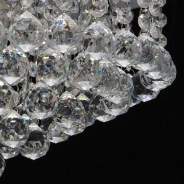 Потолочная люстра MW-Light Венеция 276014605, серебро, прозрачный, металл, хрусталь - миниатюра 9