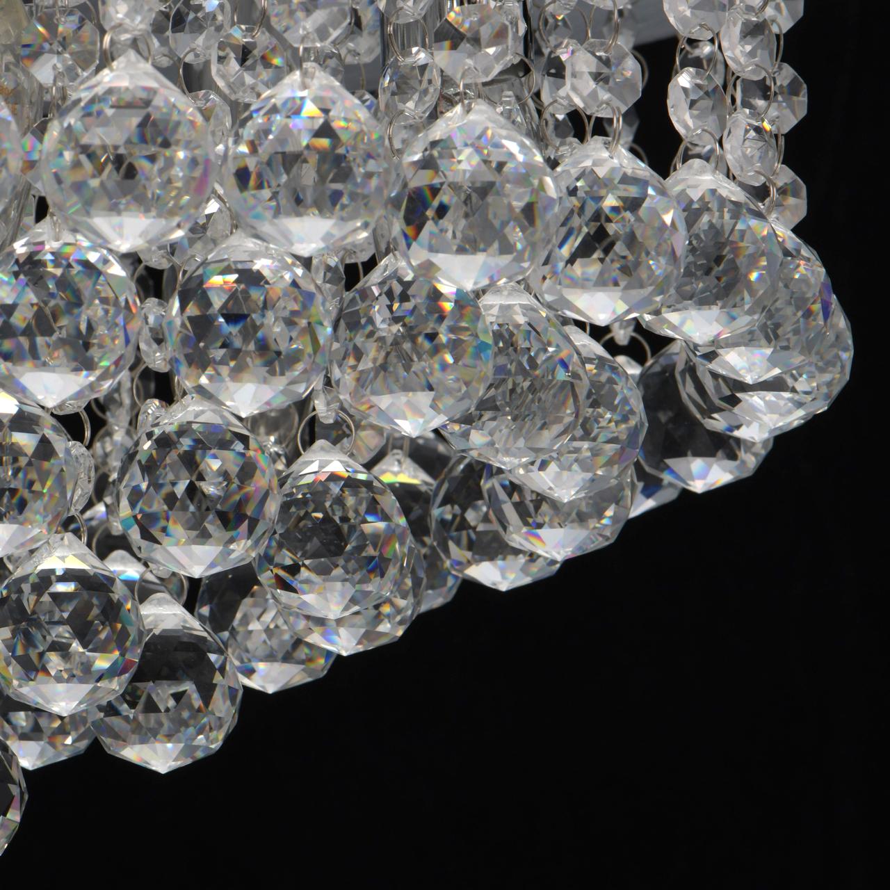 Потолочная люстра MW-Light Венеция 276014605, серебро, прозрачный, металл, хрусталь - фото 9