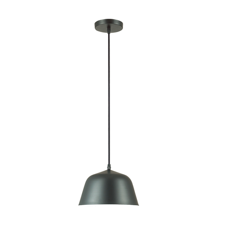 Подвесной светильник Lumion Suspentioni Gwen 3680/1, 1xE27x60W, черный, металл