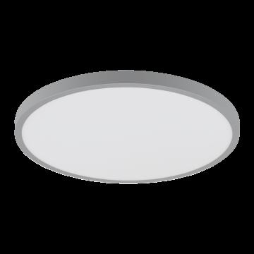Потолочный светодиодный светильник Eglo Fueva 1 97263, LED 25W 3000K 2500lm, серебро, металл с пластиком, пластик