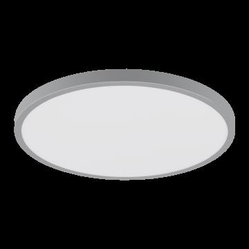 Потолочный светодиодный светильник Eglo Fueva 1 97267, LED 25W 4000K 2500lm, серебро, металл с пластиком, пластик