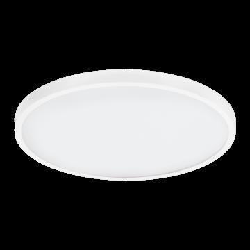 Потолочный светодиодный светильник Eglo Fueva 1 97271, LED 25W 3000K 2700lm, белый, металл с пластиком, пластик