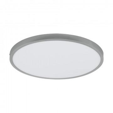 Потолочный светодиодный светильник Eglo Fueva 1 97272, LED 25W 3000K 2700lm, серебро, металл с пластиком, пластик