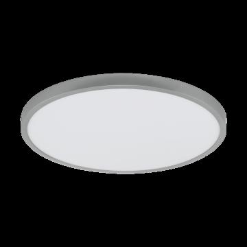 Потолочный светодиодный светильник Eglo Fueva 1 97276, LED 25W 4000K 2900lm, серебро, металл с пластиком, пластик