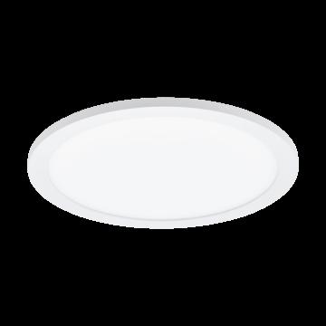 Потолочный светодиодный светильник Eglo Sarsina 97501, LED 17W 4000K 2200lm, белый, металл с пластиком, пластик