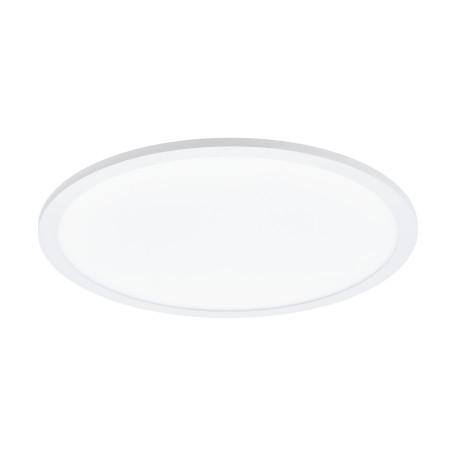 Потолочный светодиодный светильник Eglo Sarsina 97502, LED 28W 4000K 4200lm, белый, металл с пластиком, пластик