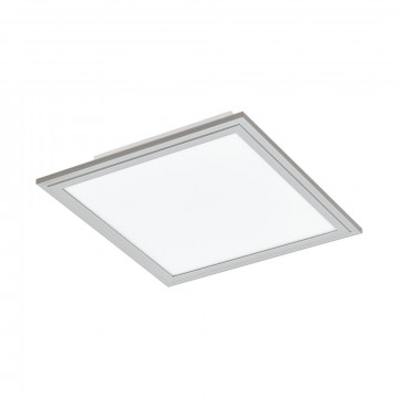 Светодиодная панель для встраиваемого или накладного монтажа Eglo Salobrena 2 98036, LED 16W 4000K 2100lm CRI>80, алюминий, металл с пластиком, пластик
