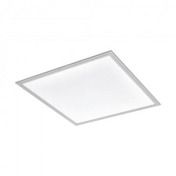 Светодиодная панель для встраиваемого или накладного монтажа Eglo Salobrena 2 98038, LED 34W 4000K 4200lm CRI>80, алюминий, металл с пластиком, пластик