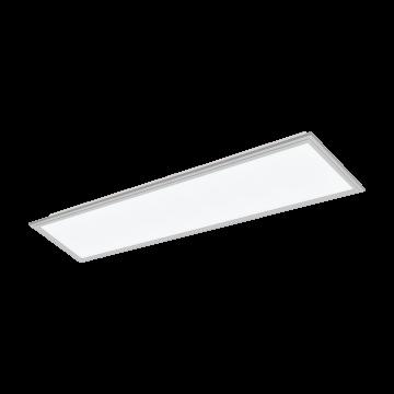 Светодиодная панель для встраиваемого или накладного монтажа Eglo Salobrena 2 98039, LED 32W 4000K 5200lm CRI>80, алюминий, металл с пластиком, пластик