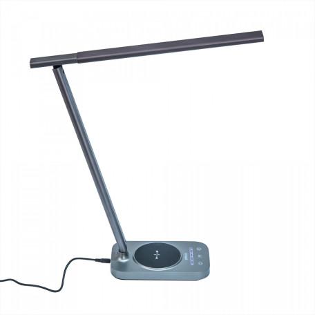 Настольная светодиодная лампа Citilux Ньютон CL803052, LED 9W 3000-4000K 720lm, серый, металл