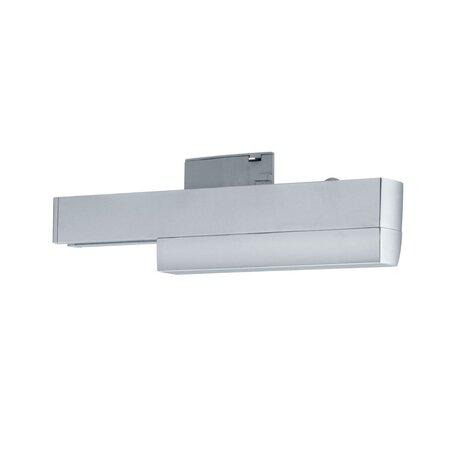 Адаптер для отдельного дистанционного включения светильника на шине Paulmann URail 96893, матовый хром, пластик