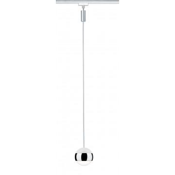 Подвесной светодиодный светильник для шинной системы Paulmann Variline Spot Capsule II 95517, LED 6W, хром, металл, металл с пластиком