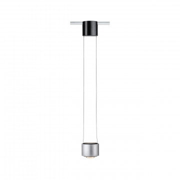 Светодиодный светильник Paulmann Aldan 95521, LED 13W, черный, алюминий, металл