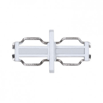Внутренний прямой соединитель для шинопровода Paulmann NanoRail Line Connector 94989, белый, пластик