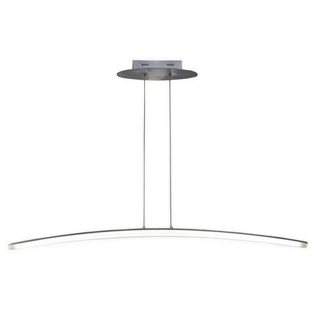 Подвесной светильник Mantra Hemisferic 4080, алюминий, белый, металл, пластик