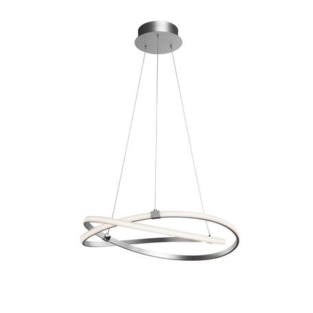 Подвесной светильник Mantra Infinity 5381, матовый хром, белый, металл, пластик