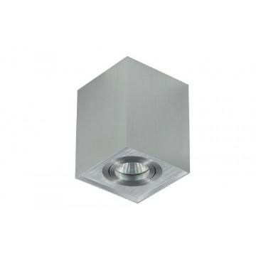 Потолочный светильник Crystal Lux CLT 420C AL 1400/109, 1xGU10x50W, алюминий, металл