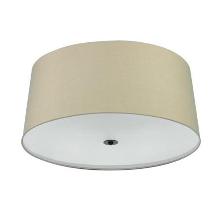 Потолочный светильник Mantra Argi 5214, коричневый, бежевый, белый, металл, пластик, текстиль