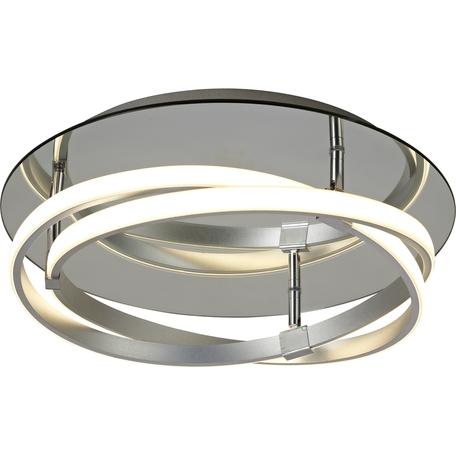 Потолочный светильник Mantra Infinity 5382, хром, белый, матовый хром, металл, пластик