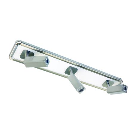 Потолочный светильник с регулировкой направления света Mantra Ibiza 5252, никель, белый, металл, пластик