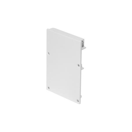 Концевая заглушка для профиля для светодиодной ленты SLV GLENOS Pro-4970 213481, белый, металл