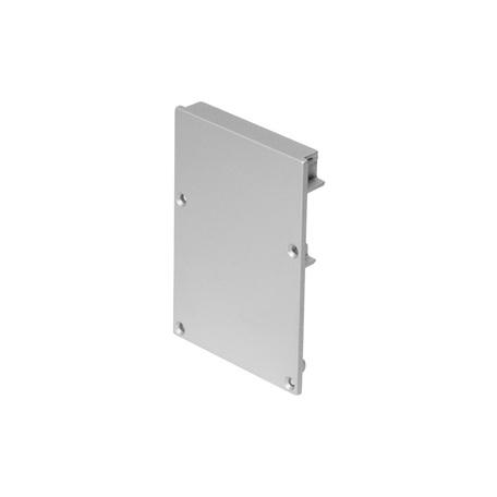 Концевая заглушка для профиля для светодиодной ленты SLV GLENOS Pro-4970 213484, алюминий, металл
