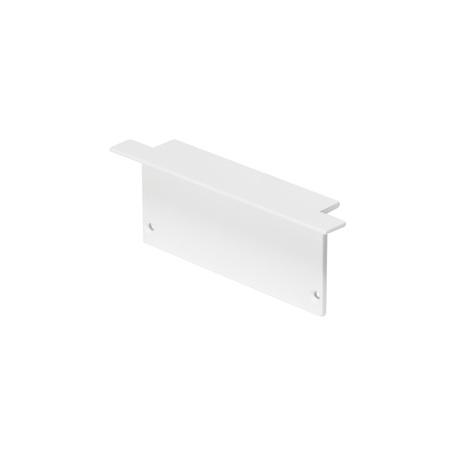 Концевая заглушка для профиля для светодиодной ленты SLV GLENOS Pro-8832 213521, белый, пластик