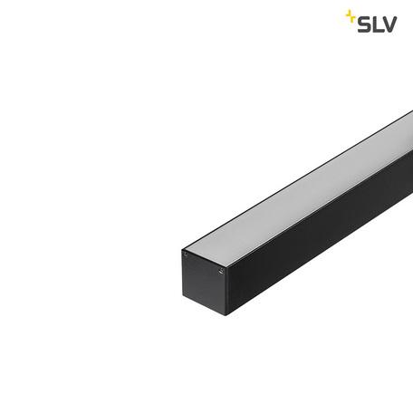 Концевая заглушка для профиля для светодиодной ленты SLV GLENOS Pro-3030 213650, черный