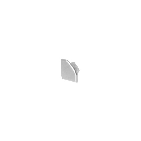 Концевая заглушка для профиля для светодиодной ленты SLV GLENOS D-2720 213934, серый