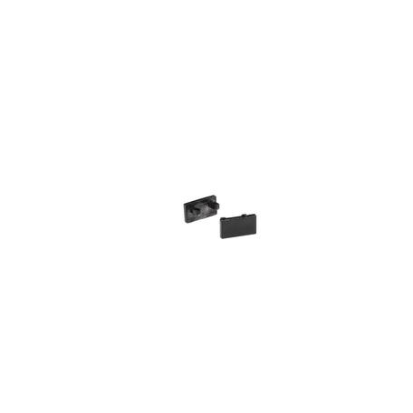 Концевая заглушка для профиля для светодиодной ленты SLV GLENOS D-1107 213970, черный