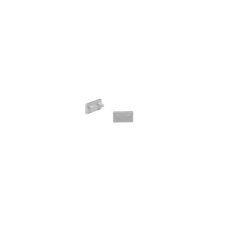 Концевая заглушка для профиля для светодиодной ленты SLV GLENOS D-1107 213974, серый