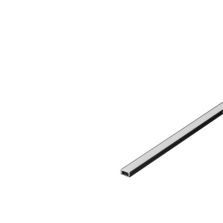 Накладной профиль для светодиодной ленты без рассеивателя SLV GLENOS D-1107 200 213950, черный, металл