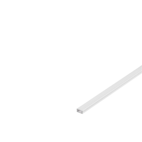Накладной профиль для светодиодной ленты без рассеивателя SLV GLENOS D-1107 200 213951, белый, металл